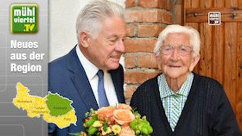Hermine Wurm feierte 100jährigen Geburtstag