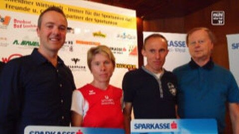 Andrea und Franz Springer gewinnen Sternsteinberglauf