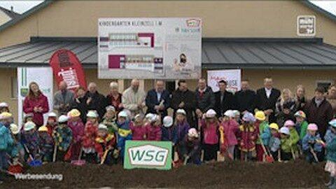 Spatenstichfeier Kindergarten Kleinzell
