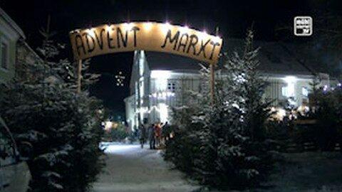 Ankündigung Adventmarkt der Lebenswelt Schenkenfelden