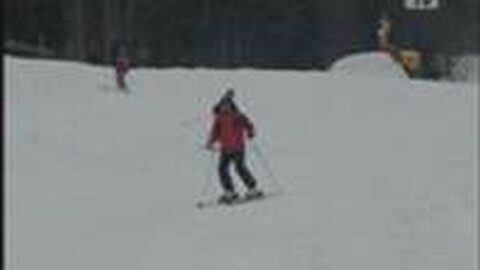 Schifahren am Hochficht – Endsaison April 2009