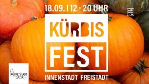 Ankündigung Kürbisfest in Freistadt am 18. September von 12 bis 20 Uhr