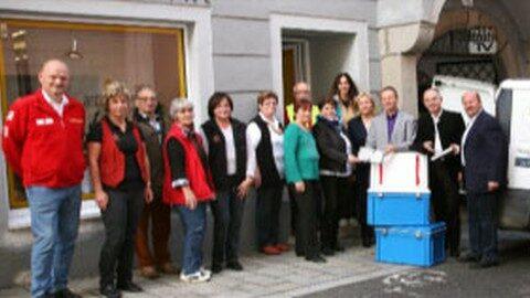 Mit gutem Beispiel voran: LKH Freistadt spendet Mahlzeiten an Sozialmärkte