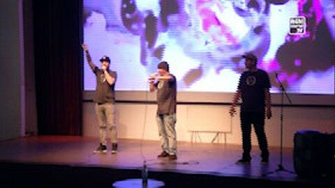 Rap-Session im Salzhof