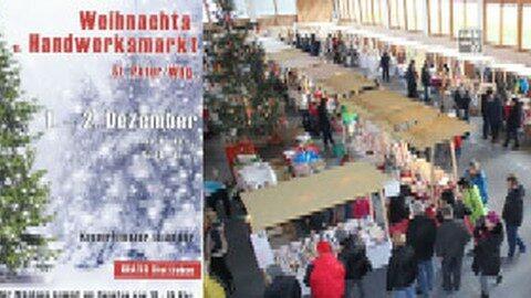 Ankündigung Weihnachtsmarkt in St. Peter am Wimberg