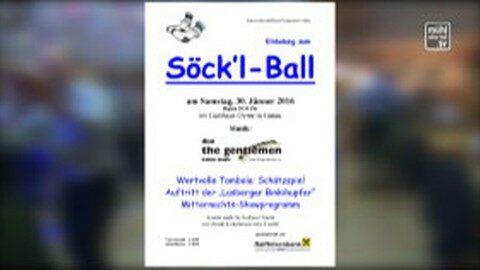 Ankündigung Söck'l Ball in Gutau