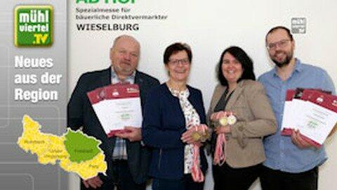 """Medaillen für """"Baiernaz"""" und weiteren regionalen Produzenten"""