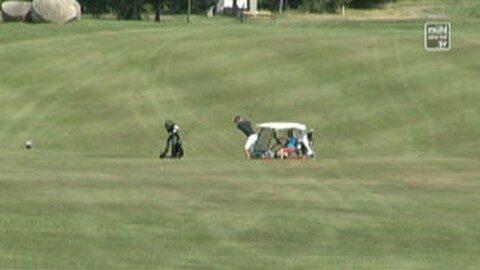 Golfen in St. Oswald bei Freistadt mit Matthias Schwab