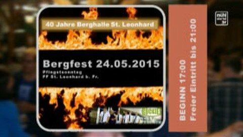 Ankündigung Bergfest in St. Leonhard bei Freistadt