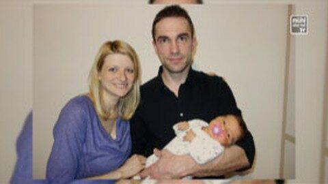 Geburt von Tochter Simona