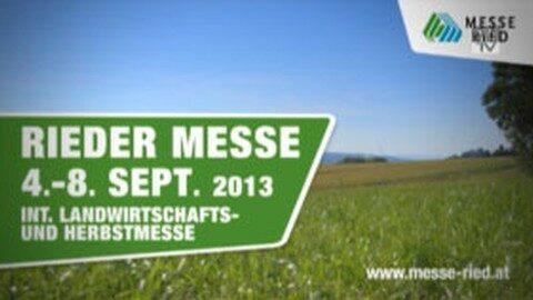 Messe Ried von 4-8. Sep. 2013