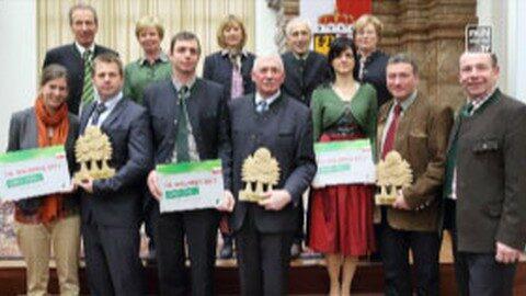 OÖ Waldpreis 2015 verliehen