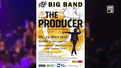 Ankündigung PSF Big Band im Zwettlerhof