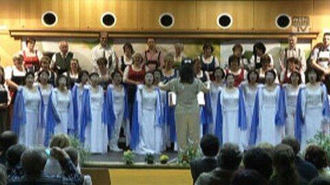 Konzert in Grünbach mit japanischem Frauenchor