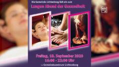 Ankündigung Abend der Gesundheit in Lichtenberg – 18.9.2020 von 16:00 bis 22:00