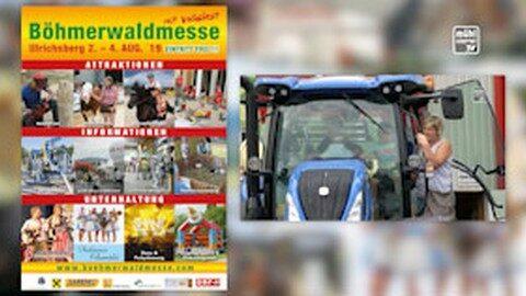 Ankündigung Böhmerwaldmesse in Ulrichsberg