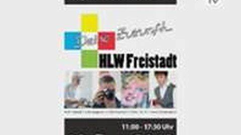 Ankündigung Tag der offenen Tür in der HLW Freistadt