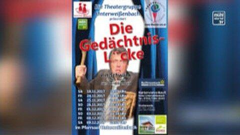 Ankündigung Theater Unterweißenbach