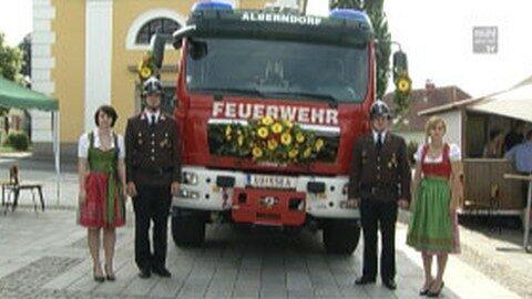 Fahrzeugsegnung der FF Alberndorf