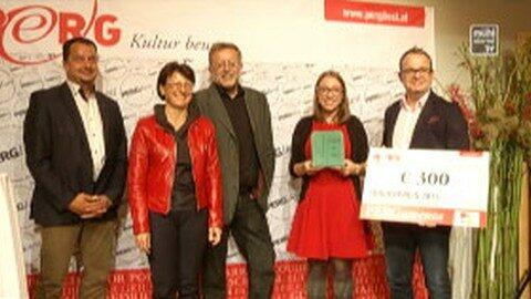 """Literaturpreis """"PERGamenta"""" in Perg verliehen"""