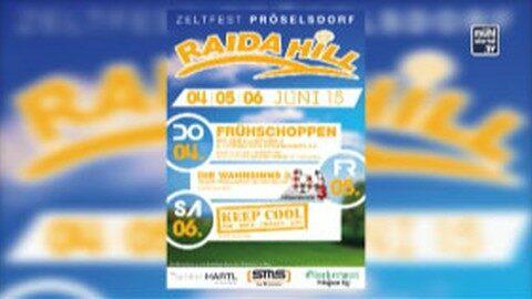 Ankündigung: Raida Hill Fest – in Pröselsdorf