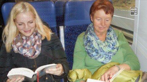 """""""Bücher fahren Zug"""""""