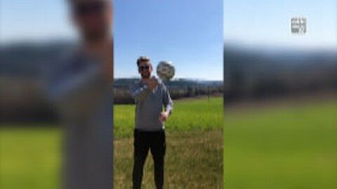 Sportunion Waldburg Faustball: stay at home – play together