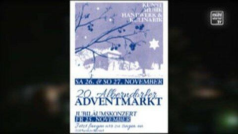 Ankündigung Adventmarkt Alberndorf 26./27. November 2016