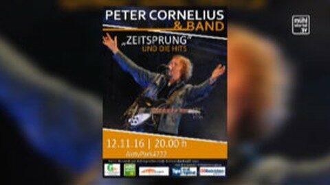 Ankündigung Konzert Peter Cornelius mit Band in St. Georgen an der Gusen