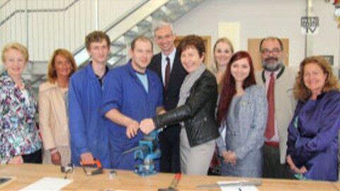 Neue Produktionsschule Perg offiziell eröffnet