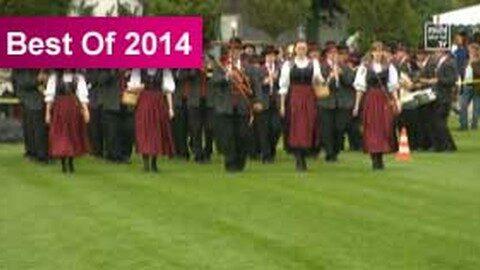 Bezirksmusikfest Freistadt in Schönau i. Mkr. 2014