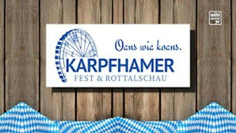 Ankündigung Karpfhamerfest in Niederbayern