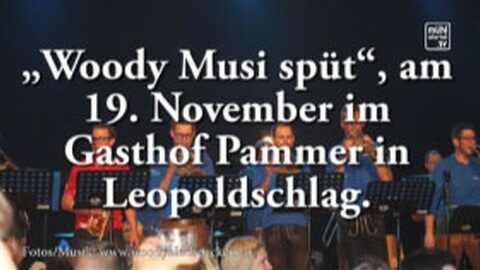 Ankündigung GH Pammer, Mardetschlag, Woodyblechpeckers, CD-Präsentation, 19.11.2016, 20 Uhr