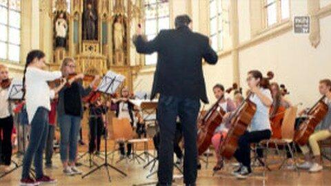 Ankündigungen Konzert zur Renovierung des Dachstuhls der Filialkirche Pesenbach, Gemeinde Feldkirchen