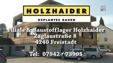 Holzhaider Bau Drive-In in Freistadt und St. Oswald