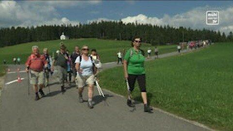 Senioren pilgern am Johannesweg