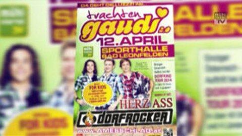 Ankündigung Trachtengaudi in Bad Leonfelden