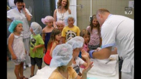 Angstfreies Erleben-Kinder erkunden Krankenhaus