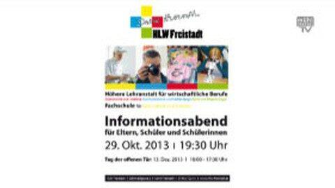 Informationsabend HLW Freistadt
