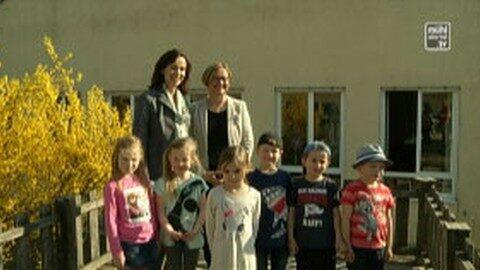Familienministerin Karmasin zu Gast in Kleinzell im Mkr.