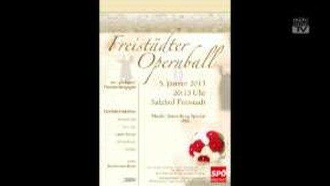 Ankündigung Freistädter Opernball am 5. 12. 2013