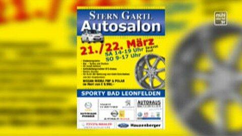 Ankündigung: Sterngartl Autosalon