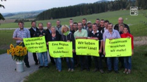"""Landwirte der Mühlviertler Alm zeigen auf – """"Eine Region lebt regional!"""""""