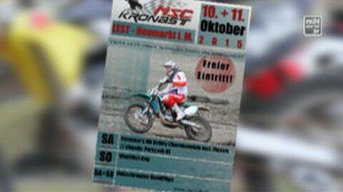 Ankündigung Motorcrossrennen in Lest