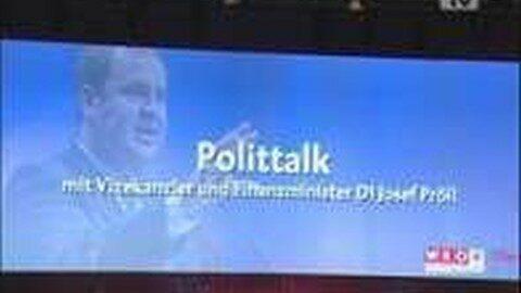 Polittalk mit BM Dr. Josef Pröll
