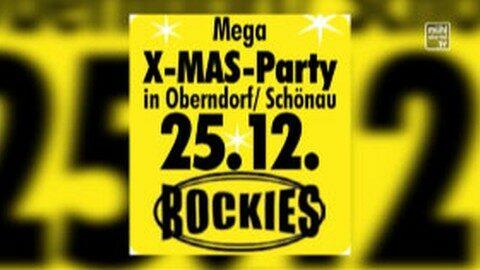 Ankündigung Xmas Party im GH Aumayr