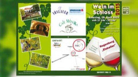 Ankündigung Wein im Schloss Hagenberg