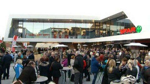 Eröffnung Kaufhaus Haderer in Lembach