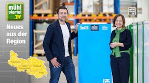 ÖkoFEN widmet 100.000ste Pelletsheizung UNICEF Österreich