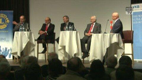 """Dr. Erhard Busek in Freistadt: """"25 Jahre Fall des eisernen Vorhangs"""""""